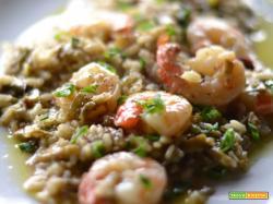 Come preparare il risotto carciofi e gamberi – ricetta