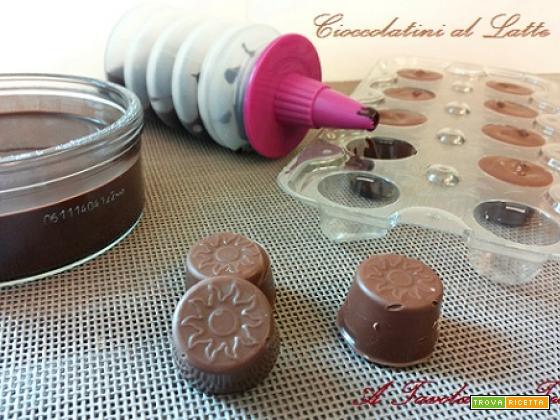 Cioccolatini al Latte fatti in casa