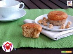 Muffin vegani alle nocciole