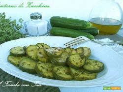 Contorno di Zucchine Marinate