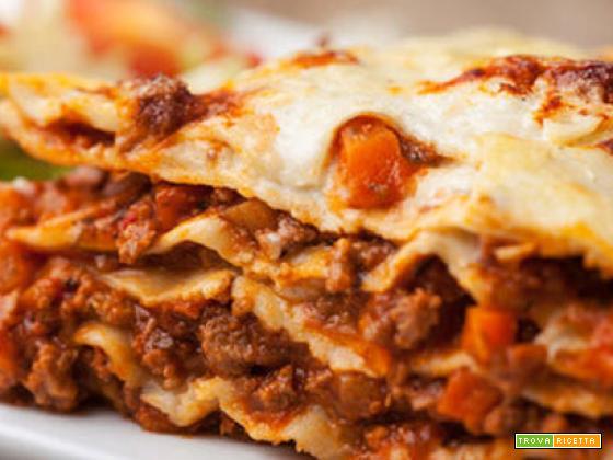 Come preparare le lasagne al forno – ricetta