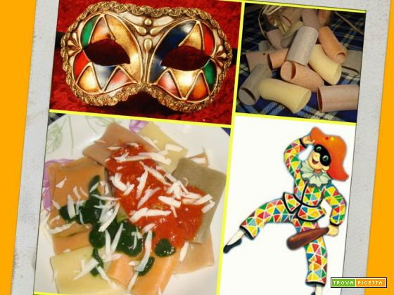 PACCHERI DI ARLECCHINO - Carnevale
