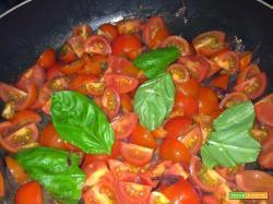 La mia salsa di pomodorini ciliegini
