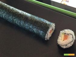 Bimby, Sushi Futomaki ed Uramaki con Verdure e Pesce