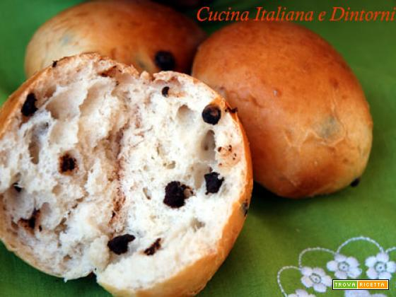 Pan goccioli all'acqua e mascarpone