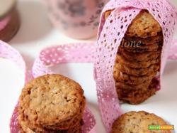 biscotti ai corn flakes e cioccolato