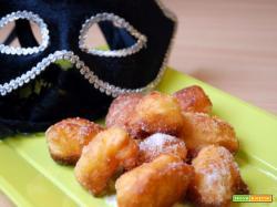 Frittelle di ricotta dolcetti di Carnevale