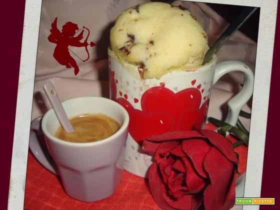 MUG CAKE - BE MY VALENTINE