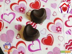 Cuori di cioccolato e Nutella