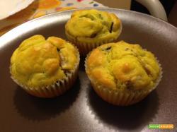 Muffin alle verdure con ricotta