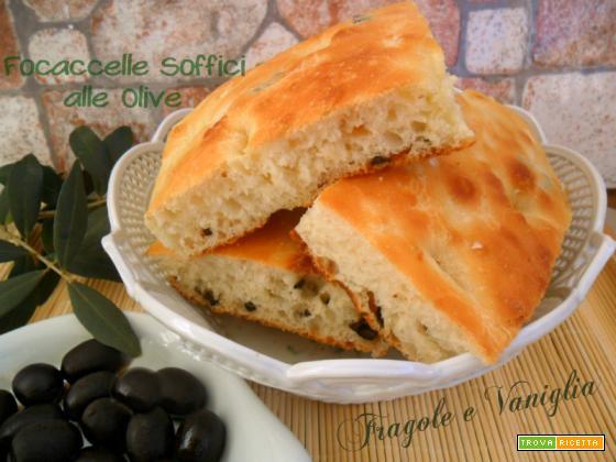 Focaccelle Soffici alle Olive