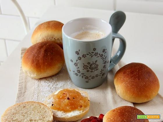 panini al latte semi integrali