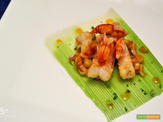 Gamberi Thai al Lemongrass