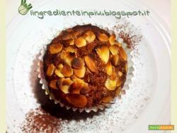 Muffin al cacao e mandorle