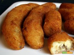 Banana impanata fritta alla brasiliana