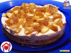 Cheesecake mela e cannella