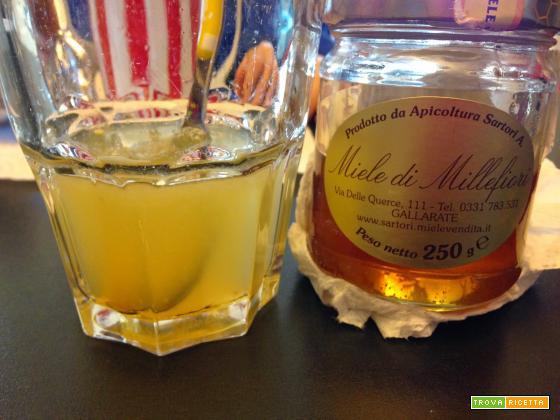 Senza Bimby, Il Giusto Risveglio Mattutino - Acqua Calda e Limone
