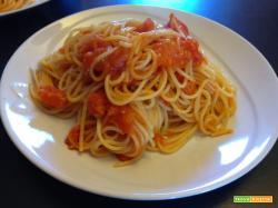 Con e Senza Bimby, Spaghetti ai pomodorini