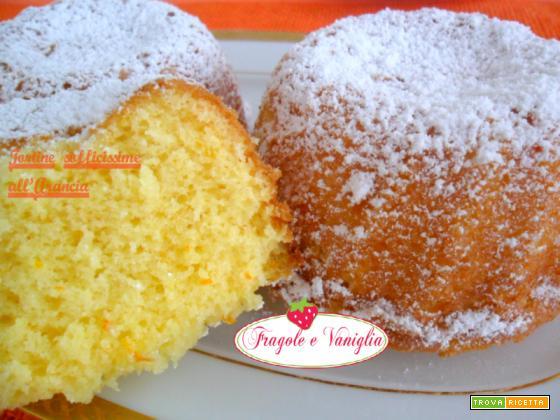 Tortine sofficissime all'arancia