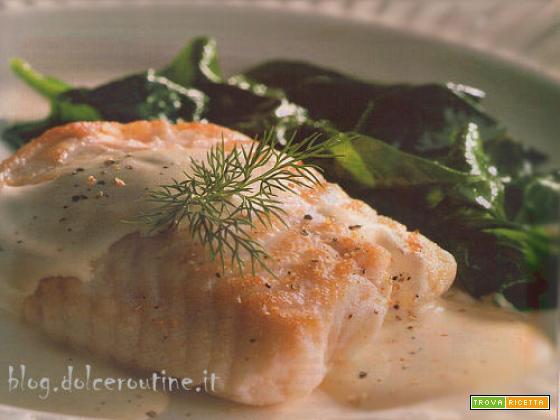 Filetti di Merluzzo con Salsa al Formaggio
