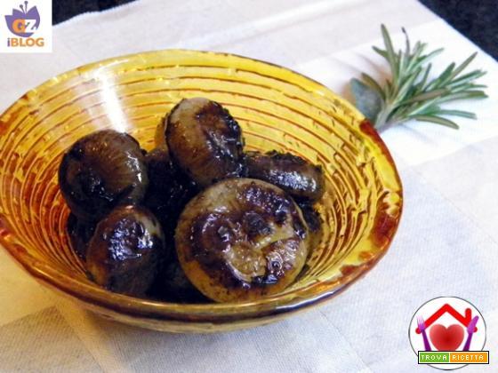 Cipolline agrodolci all'aceto balsamico