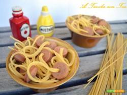 Spaghetti nei Wurstel!