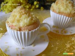 Cupcakes mimosa Bimby