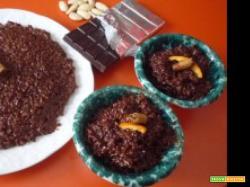Torta riso nero