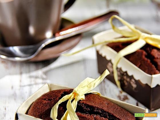 cake e muffin ciocco-cappuccino senza burro e uova
