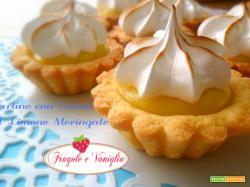 Tartine con Crema al Limone Meringate