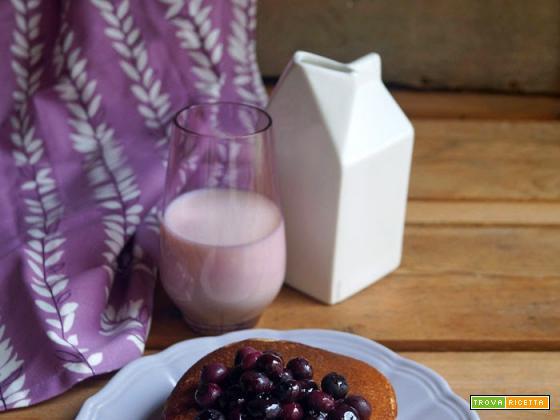 Per la serie colazione gluten free...pancakes al grano saraceno con mirtilli caramellati