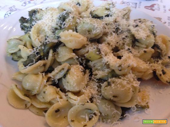 Con e Senza Bimby, Orecchiette con Spinaci e Broccoli