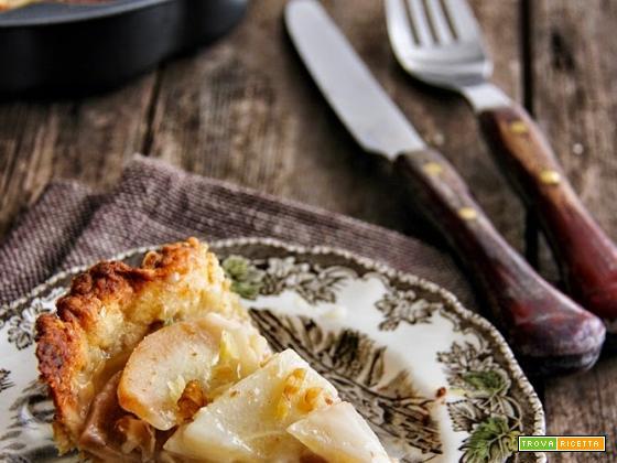 tarte con taleggio, noci e pere per mtc