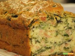 Plumcake salato salsiccia e friarielli – ricetta