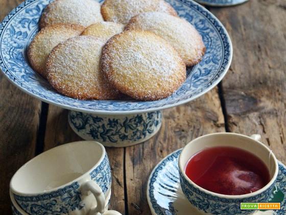 Morbidoni con farina di mais e miele (gluten free)