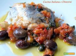 Pesce sciabola alla mediterranea