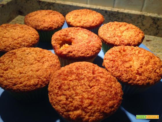 Con e Senza Bimby, Muffin con Quinoa, Mandorle e Amaretti