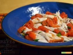 Ali di Razza con Pomodorini e Olio al Basilico