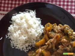 Pollo al Curry rivisitato