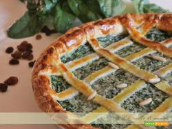 crostata di spinaci