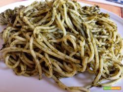 Con e Senza Bimby, Spaghetti alla Salsa di Spinaci
