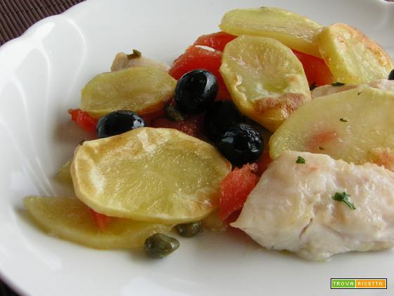 Filetti di persico con patate