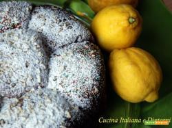 Torta brioche al limone