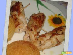 ROTOLINI DI LONZA (ricetta suggerita da Manuela)