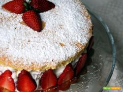 Torta Genoise alle fragole