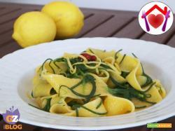 Pappardelle con agretti e limone