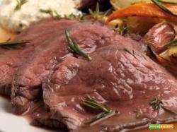 Roast beef di vitello in casseruola – Ricetta