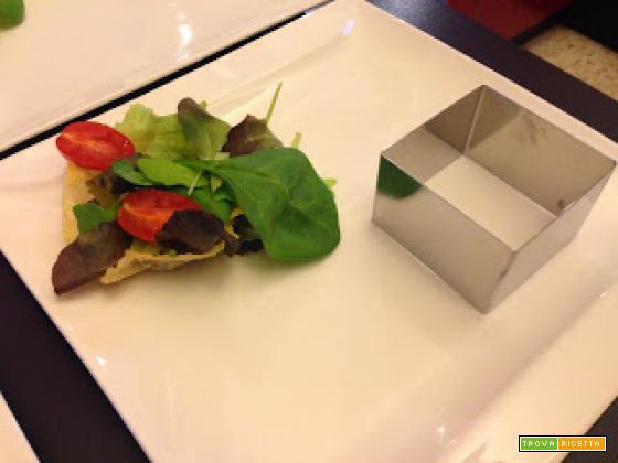 Senza Bimby, Tartare di Tonno con Uova di Pesce Spada e Confettura di Pomodorini
