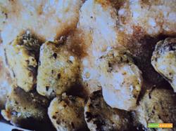 Gnocchi di bietole in salsa di noci