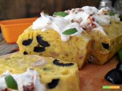 Plumcake con tonno e olive